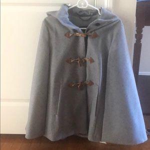 Jcrew cape jacket.  Size S/M.